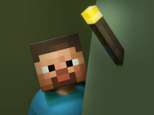 Minecraft Fackel Light Up Torch bei Coolstuff